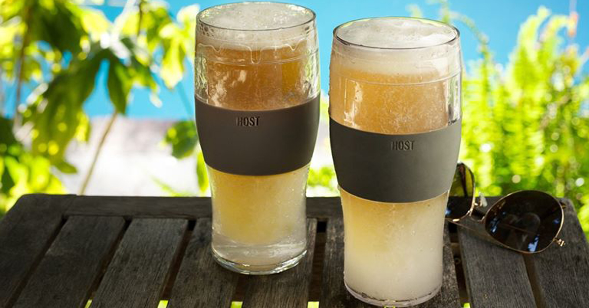Never Drink Warm Beer With These Chillable Pint Glasses photo