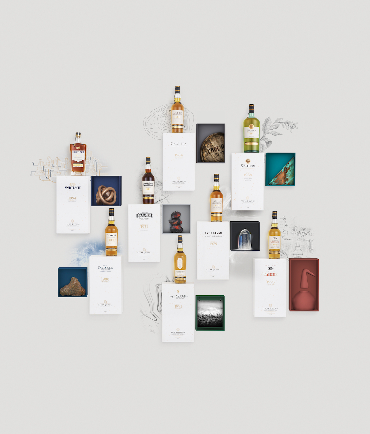 Diageo's Prima & Ultima Is The Ultimate Whisky Library For Enthusiasts And Collectors photo