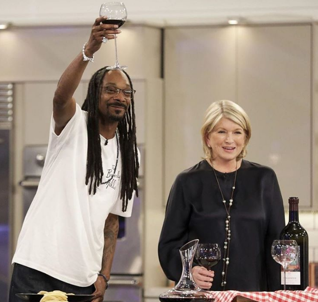 Snoop Dogg Enlists Martha Stewart To Promote '19 Crimes' Wine, And The Irony Is Fabulous photo