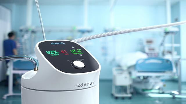 Sodastream, Hospital Invent Respiratory Device For Covid-19 Patients photo