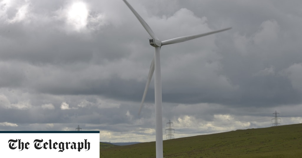 Budweiser Embroiled In Row Over Plans To Place Advert Above Wind Turbine photo