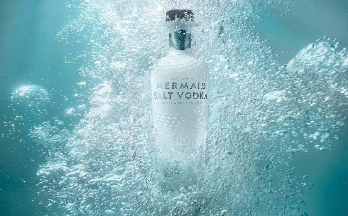 The Isle Of Wight Distillery Launches Mermaid Salt Vodka Nationally In Uk photo