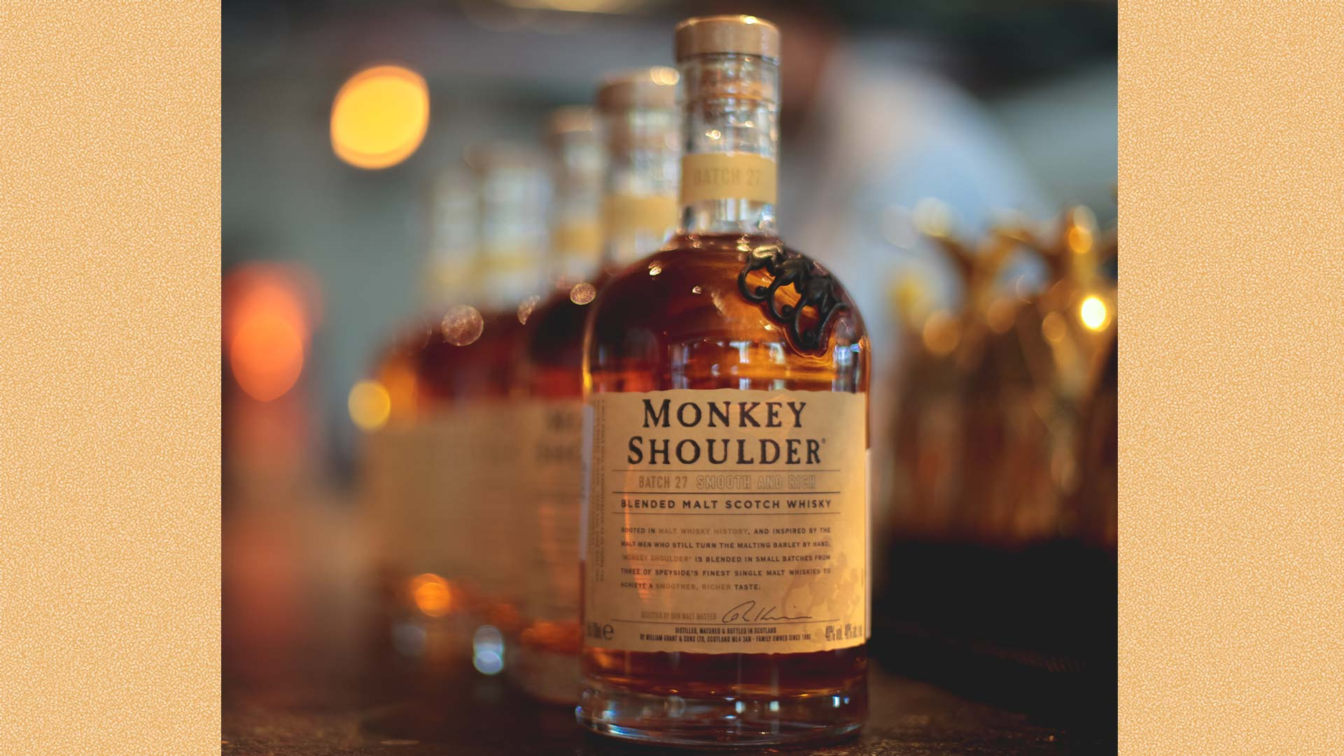 The One Whisky You Should Try This Week: Monkey Shoulder photo