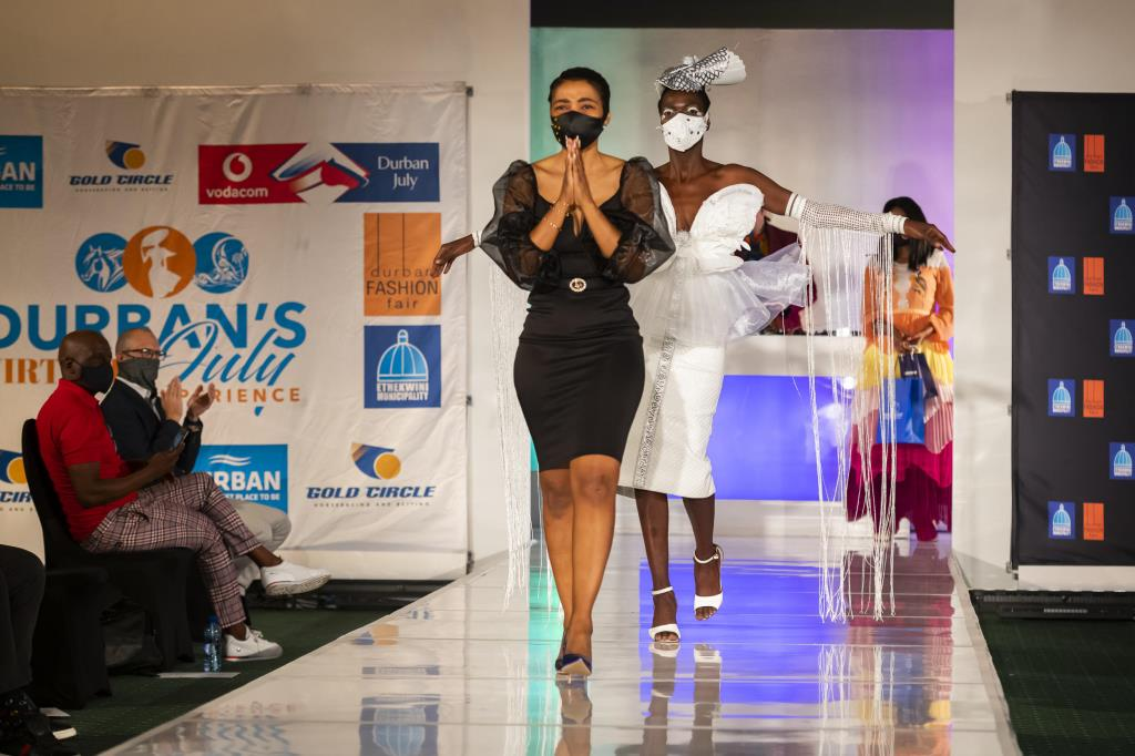 Mthembu Is All Aflutter After Vodacom Durban July Young Designer Award Win photo