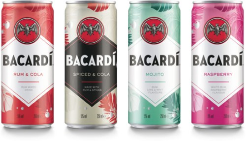 Bacardi Relaunches Rtd Cocktail Collection photo