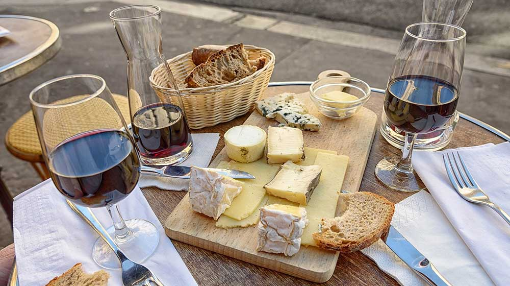 A Simple Guide To Cheese And Wine Pairing photo