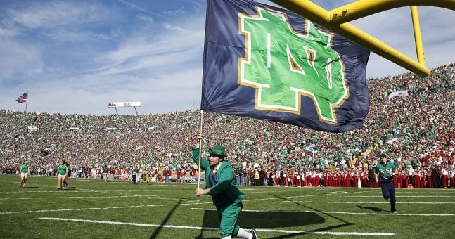Guinness Endorses Notre Dame Football Team With Controversial 'fighting Irish' Nickname photo