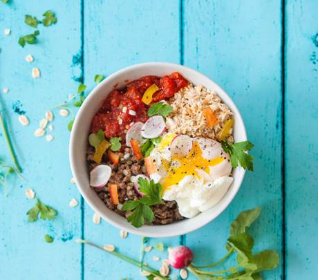 Turn Breakfast Into Dinner With This Savoury Spanish Jungle Oats Bowl photo