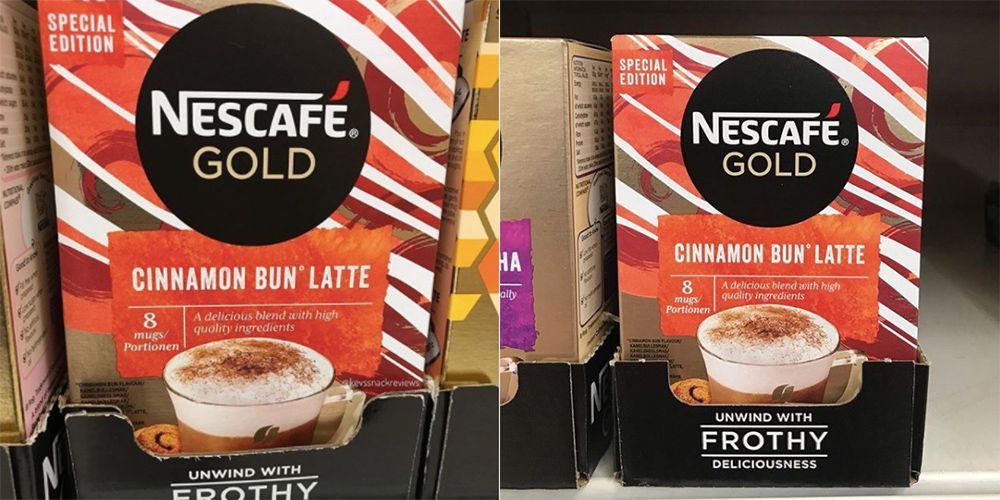 Nescafe's Cinnamon Bun Instant Lattes Are Making Us Feel All Cosy And Ready For Autumn photo