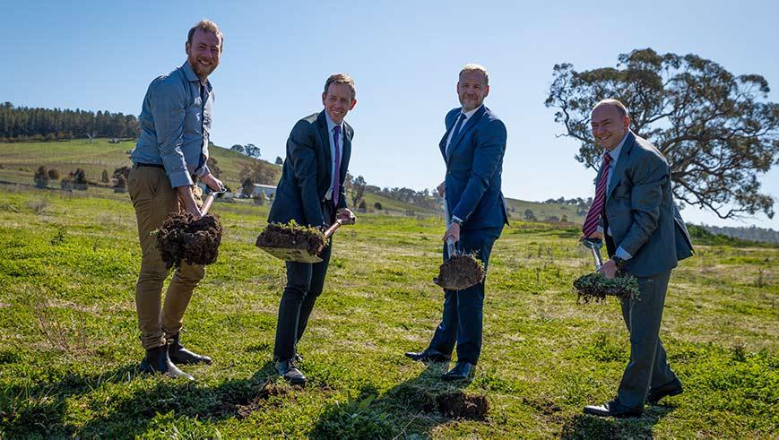 Community Solar Project Breaks Ground In Australia's Bush Capital photo