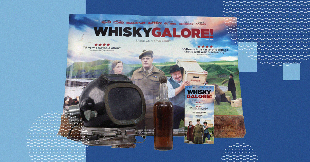 Scotch Whisky Salvaged From 80-year-old Shipwreck Up For Auction photo