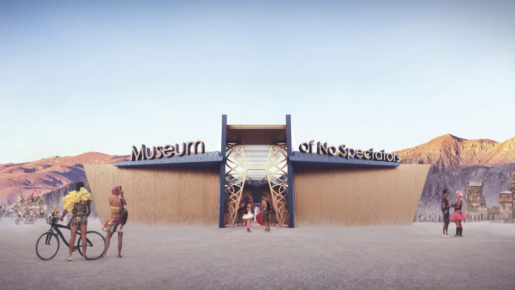John Marx And Artist Absinthia Vermut Create Virtual Experience Of Burning Man Pavilion photo