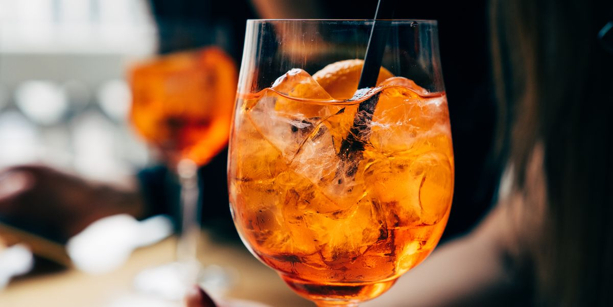 Aperol Releases Colour Chart To Help You Make The Perfect Aperol Spritz photo