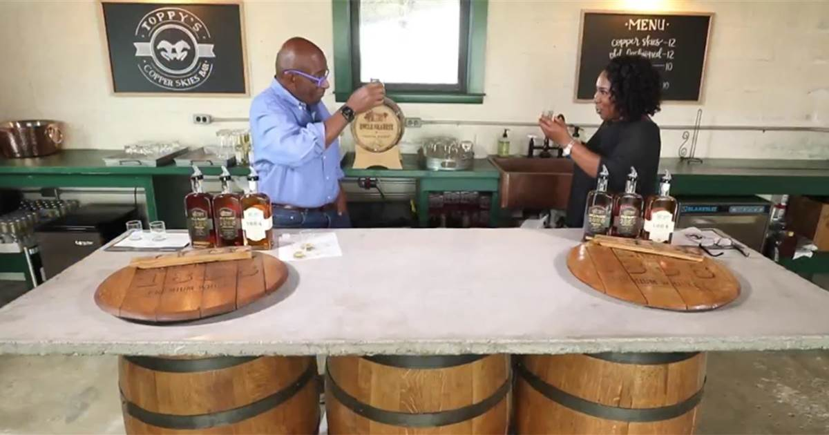 Al Roker Learns About The True Story Behind Jack Daniels' Legendary Whiskey photo