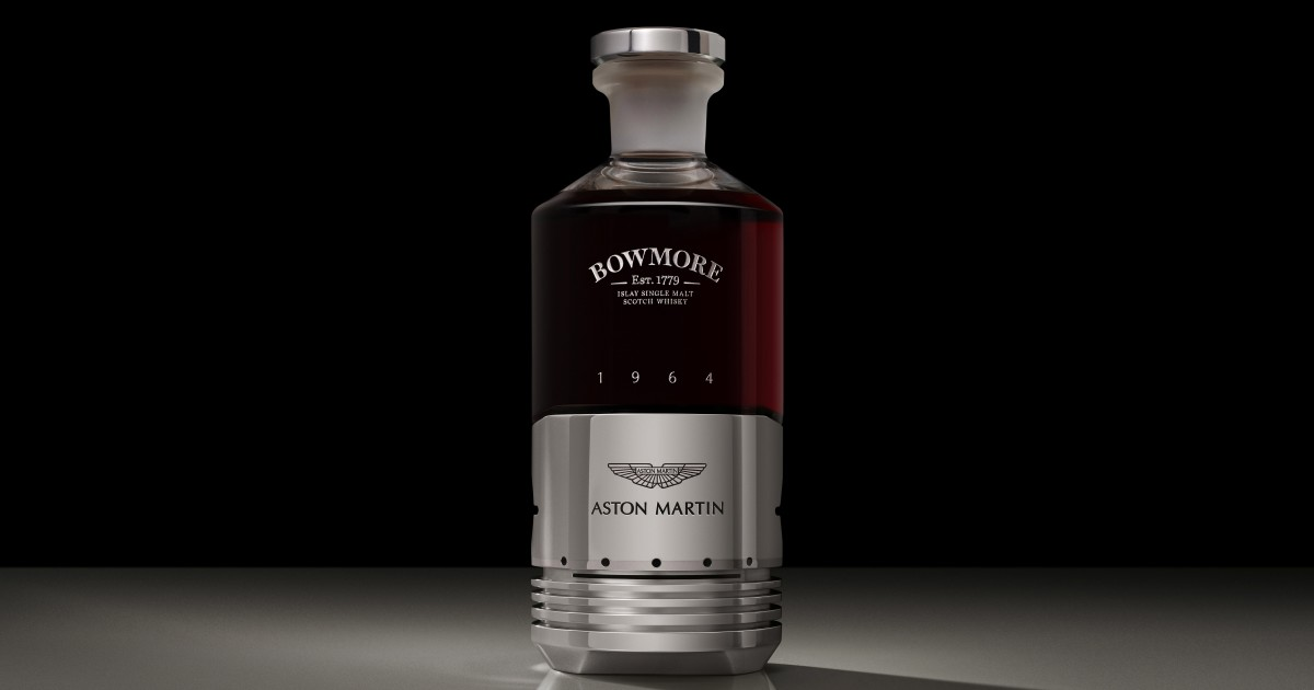 Aston Martin And Bowmore Create $65,000 Per Bottle Whisky photo