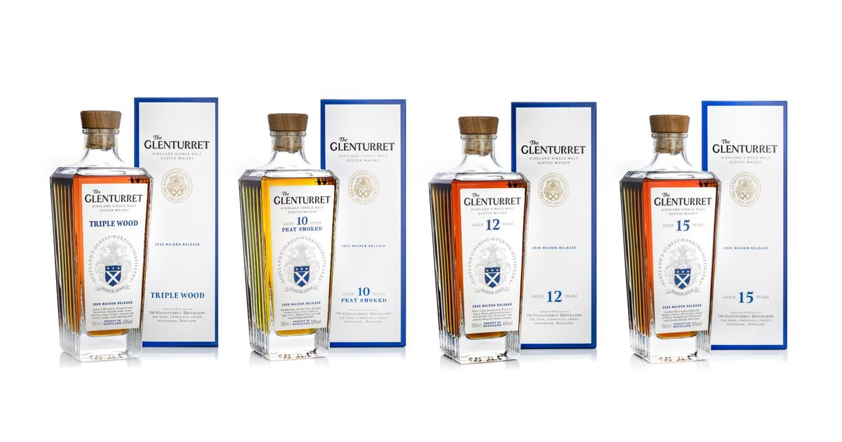 Scotland's Oldest Distillery Glenturret Launches Exciting New Core Whisky Range photo