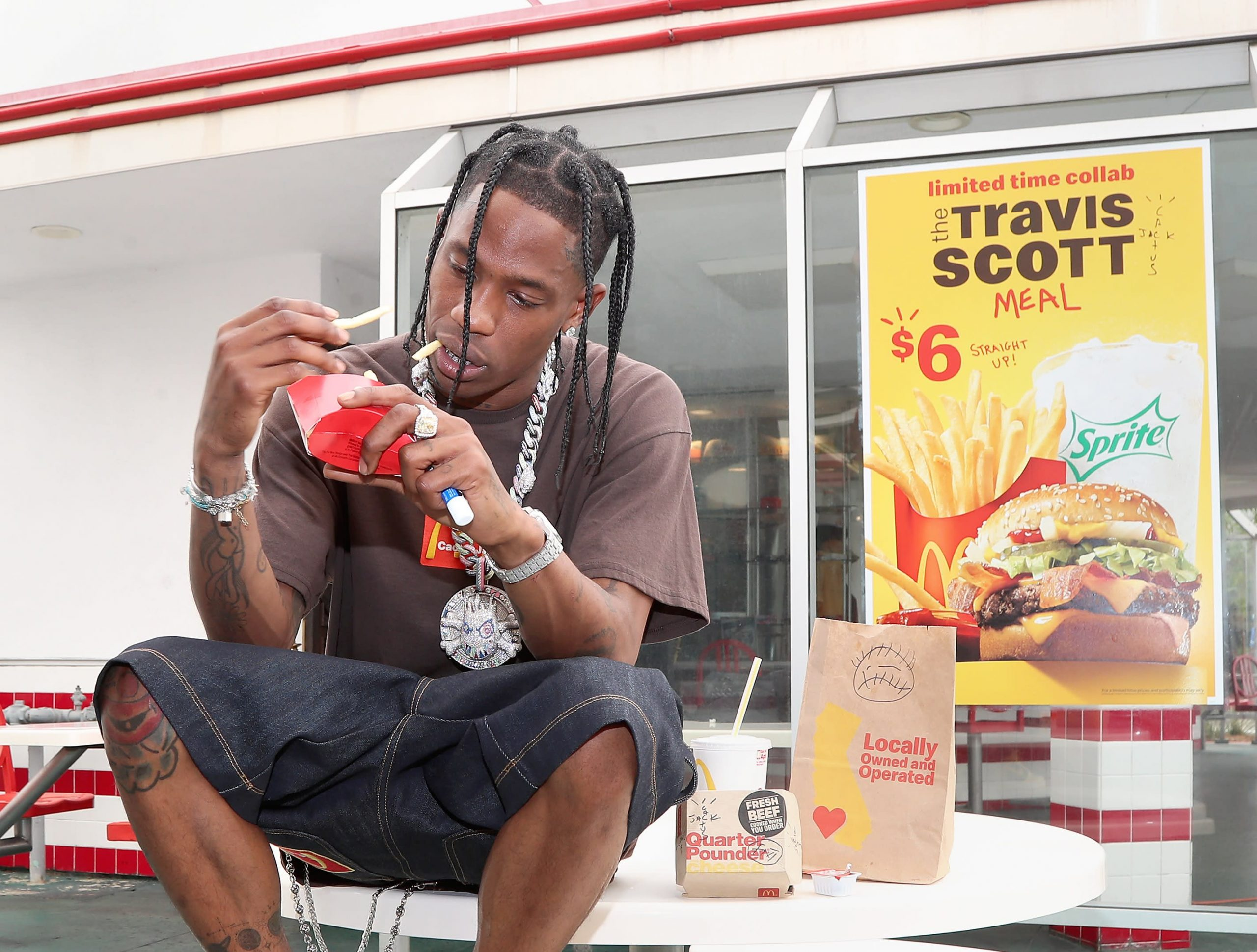 Mcdonald's Travis Scott Promotion Is So Popular, It's Causing Quarter Pounder Shortages photo