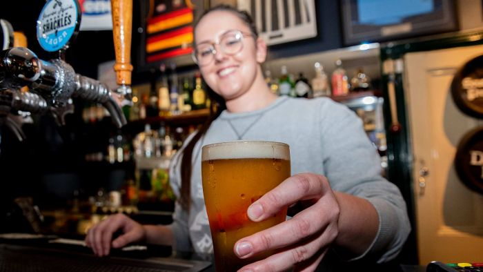 Pouring The Perfect Beer An 'art Form' Still Sought By Savourers Of Frothy Head photo