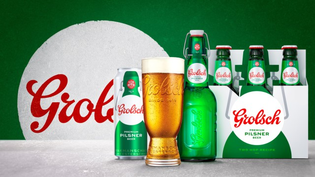 Grolsch Returns To Tap Into Uk's 4% Abv Premium Lager Segment photo