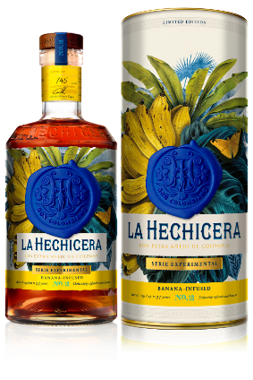 Ron La Hechicera's Serie Experimental No. 2, The Banana Experiment Rum photo