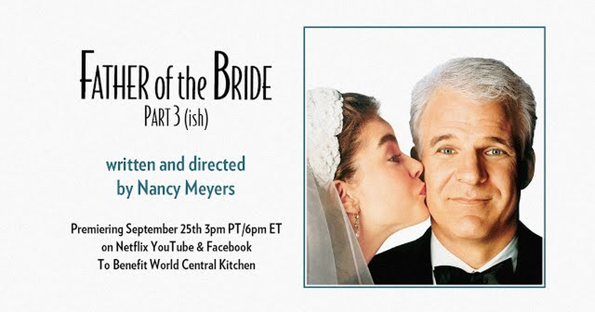 The 'father Of The Bride' Cast Reunited For The Zoom Wedding Of The Year photo