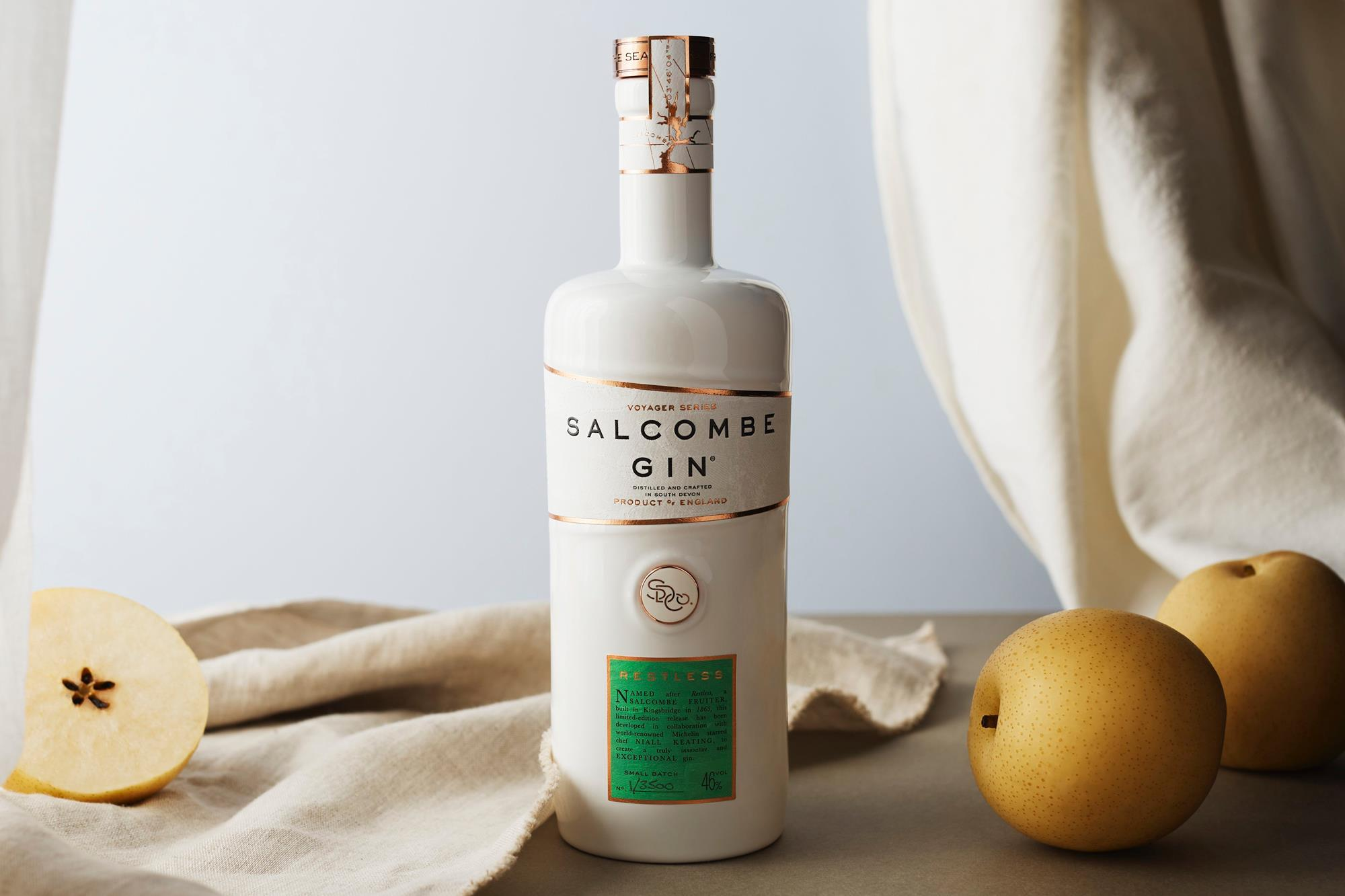 Salcombe Gin Claims First With Restless Kombucha Variant photo