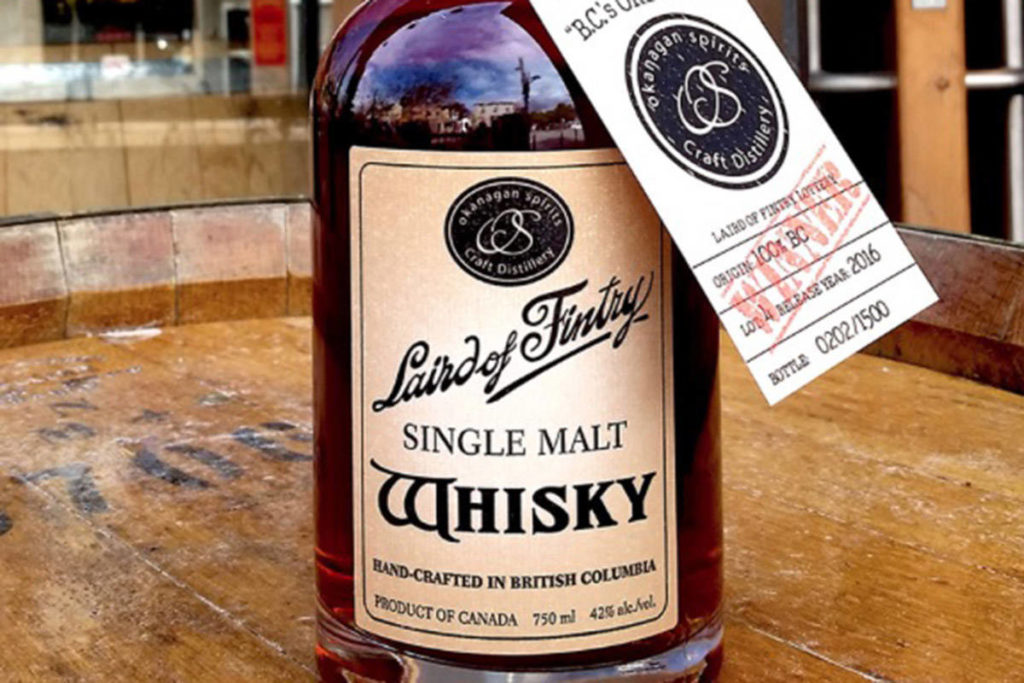 Okanagan Whisky Lottery Adds New Twists photo