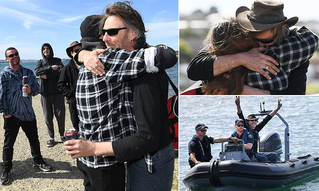 Man Arrives On Land After Four Days Lost At Sea Clutching Bourbon photo