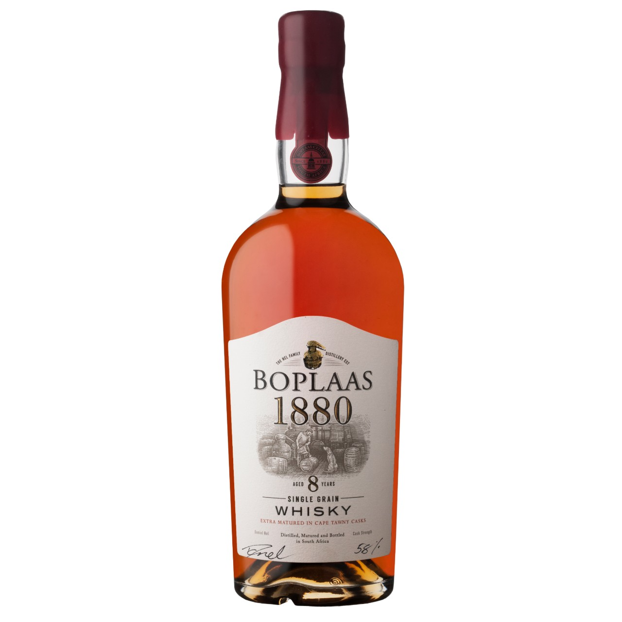 Boplaas Unveils Limited Edition 8YO Single Cask Grain Whisky photo