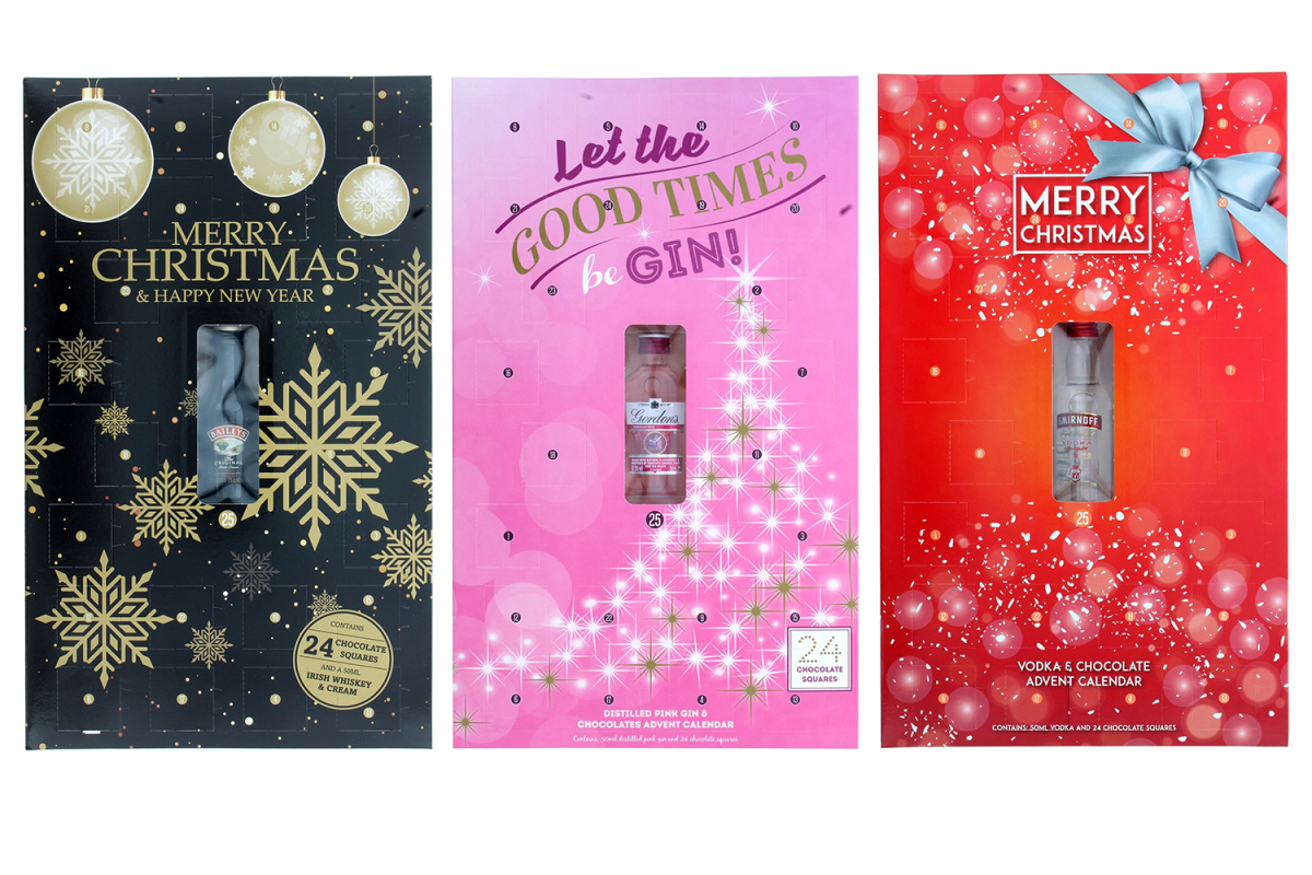 B&m Brings Back Its Gordon's Gin, Baileys And Smirnoff Advent Calendars photo
