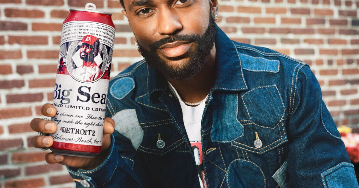 Detroit Rapper Big Sean's Face Is Now On A Budweiser Can photo