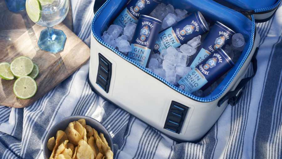 Bombay Sapphire Muscles Up With Double Strength Bombay And Tonic Cans photo