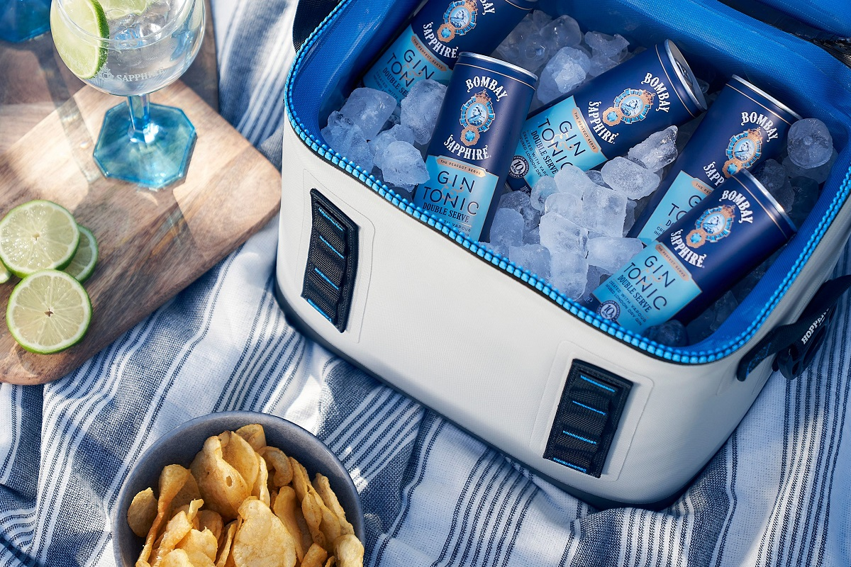 Bombay Sapphire Launches Double Serve In Cans photo