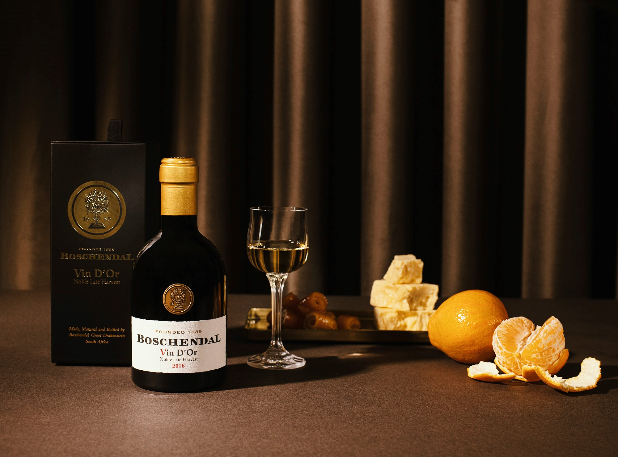 A Golden Moment: The Boschendal Vin D'Or Joins The World-class Heritage Collection photo
