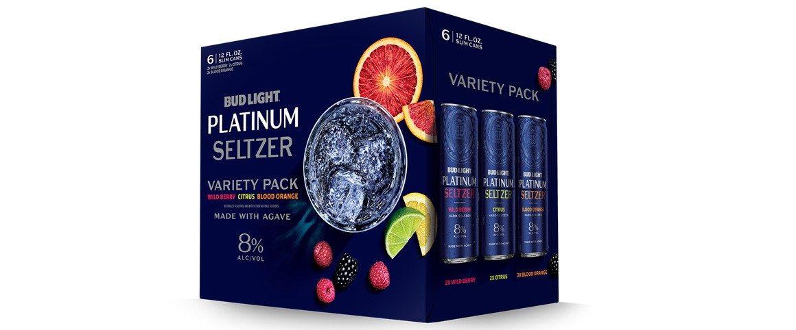 Bud Light Launches 8% Abv Platinum Seltzer photo
