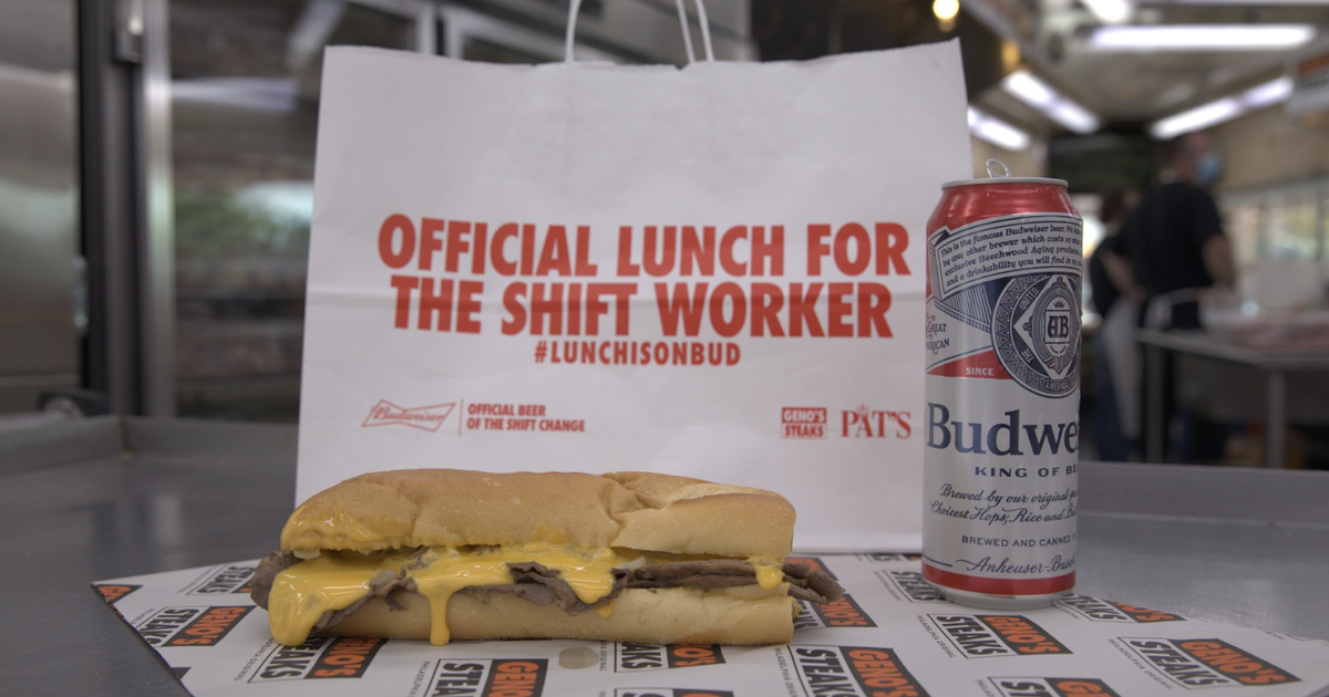 Pat's, Geno's Selling Budweiser-infused Cheesesteaks In September photo
