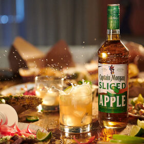 Captain Morgan Sliced Apple Rum Hits Us photo