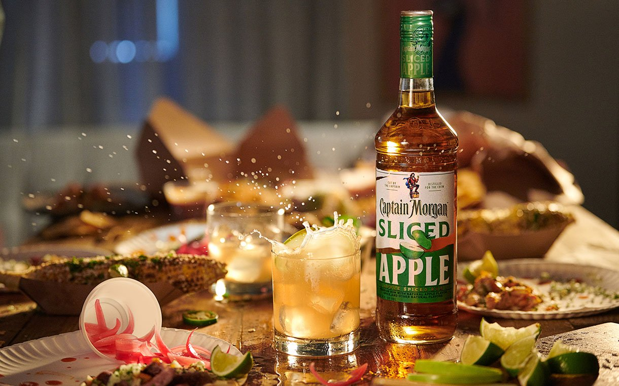 Diageo Launches Captain Morgan Sliced Apple Spiced Rum photo