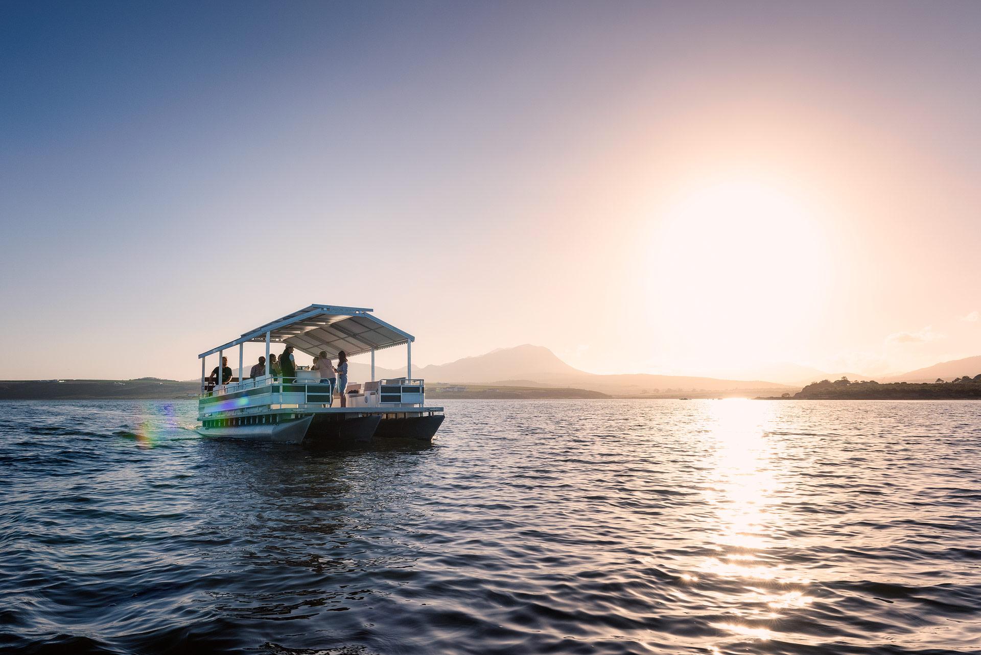 Drift Away On A Pontoon At Benguela Cove Lagoon Wine Estate photo