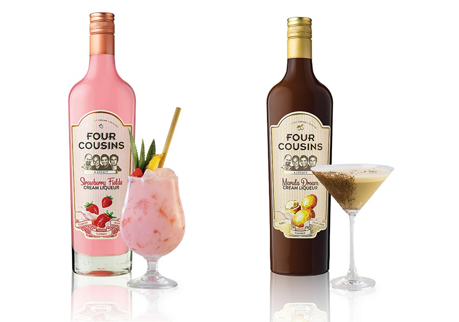 Exciting New Appearance For Four Cousins Cream Liqueurs photo
