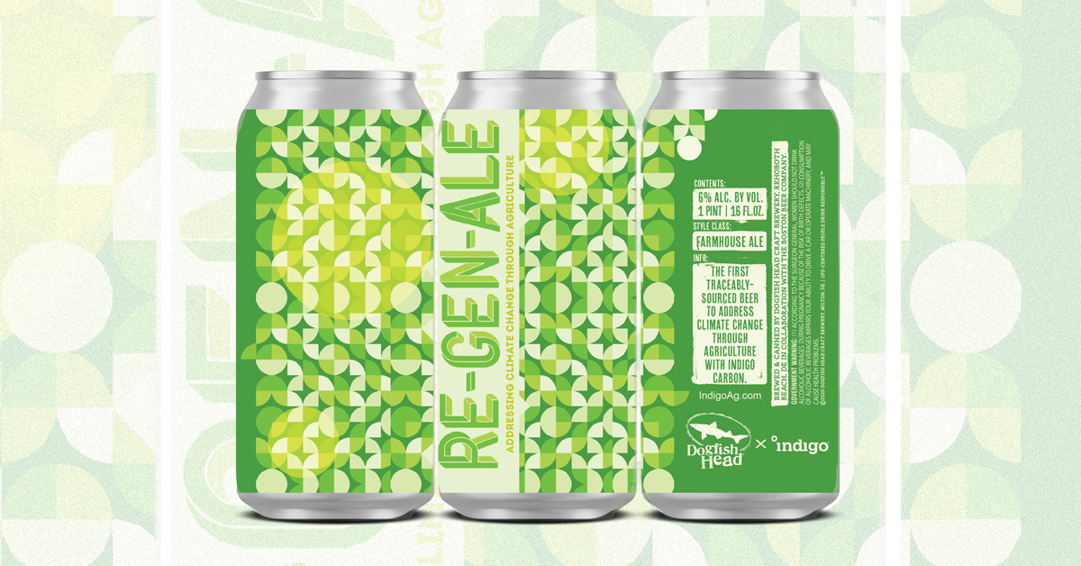 Sam Calagione Discusses Launch Of Dogfish Head Re-gen-ale Traceable Sourced Beer photo
