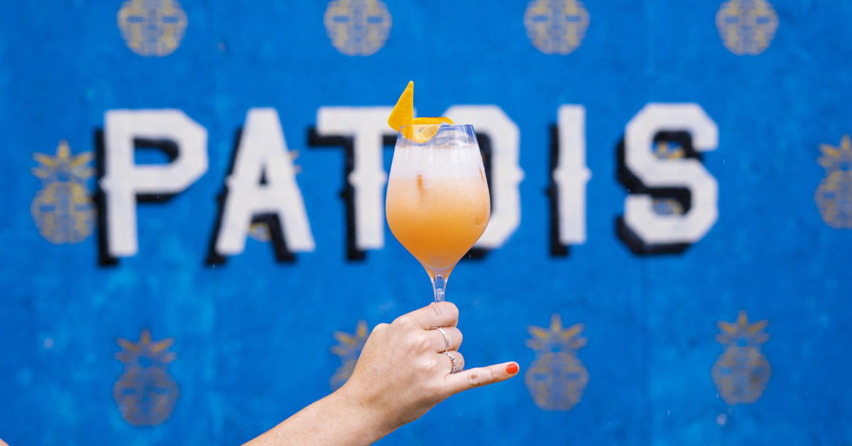 How To Make Patois Bartender Blaise Couturier's Twist On An Aperol Spritz photo