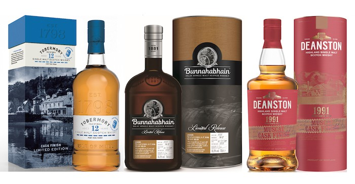 Eight New Scotch Single Malts Surface From A Trio Of Related Distilleries photo