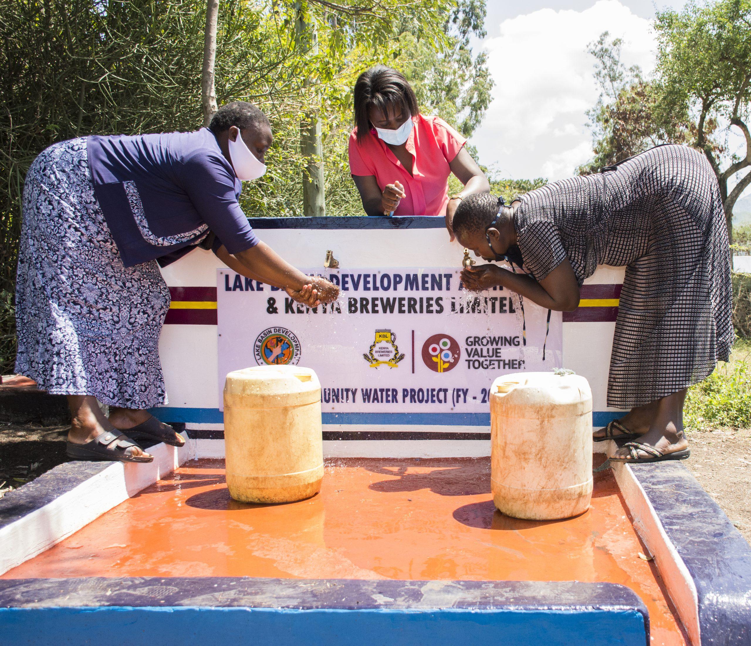 Eabl Foundation Invests Ksh. 20m In Water & Sanitation Project In Western Kenya photo