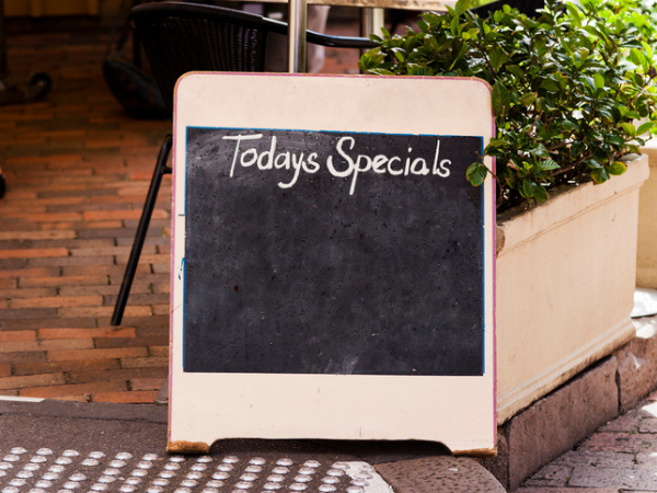 Restaurant Specials To Get Excited About photo