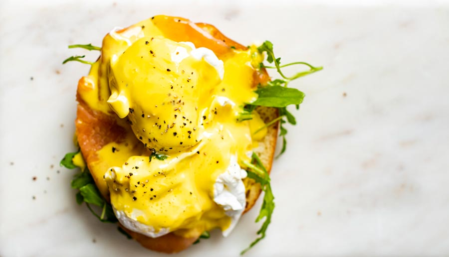 Brighten Up Your Spring Mornings With Chef Tharwat Londt's Eggs Benedict And Hollandaise Sauce Recipe photo