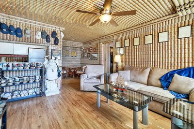 Home Decorated In Budweiser Beer Cans Is Up For Sale! photo