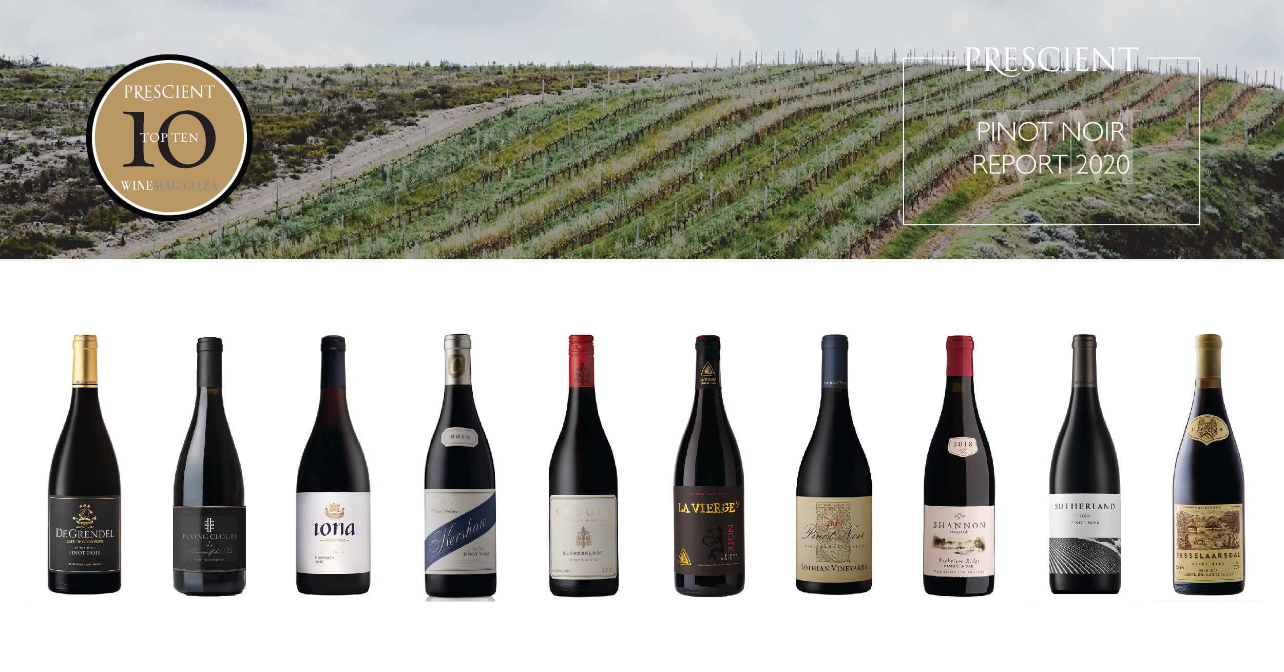 10 Best Wines In The 2020 Prescient Pinot Noir Report photo
