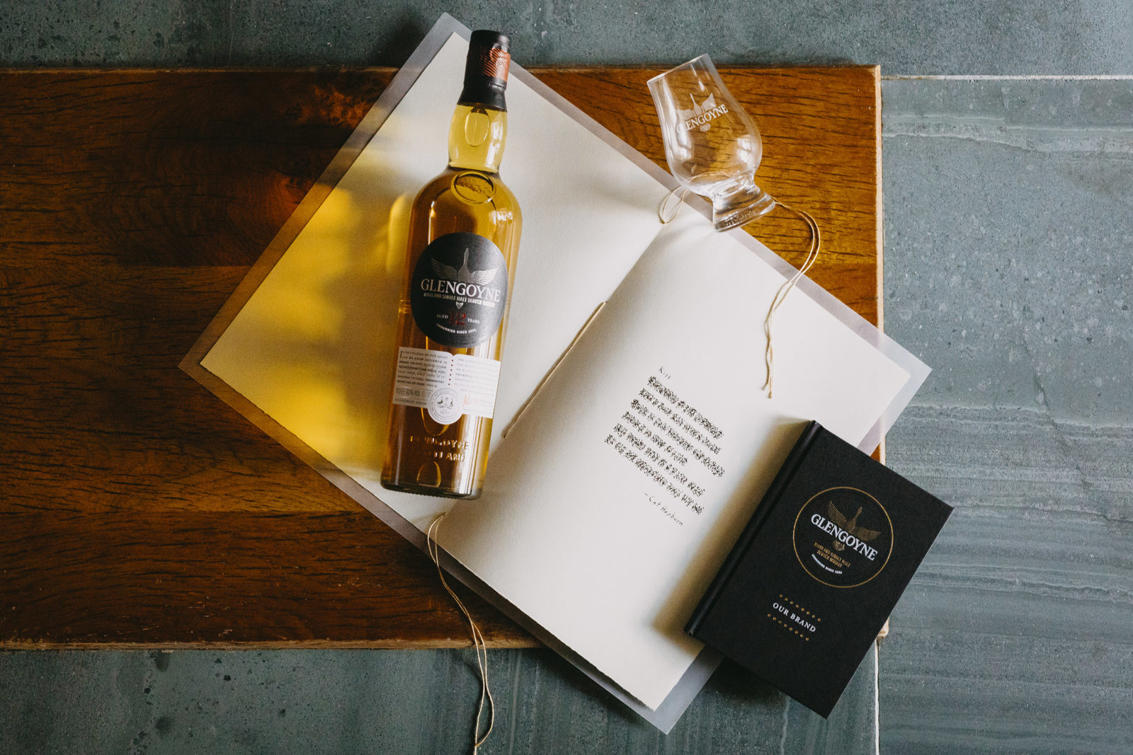 Glengoyne Celebrates New Look Branding And Eco-packaging With 'unhurried' Art Series photo