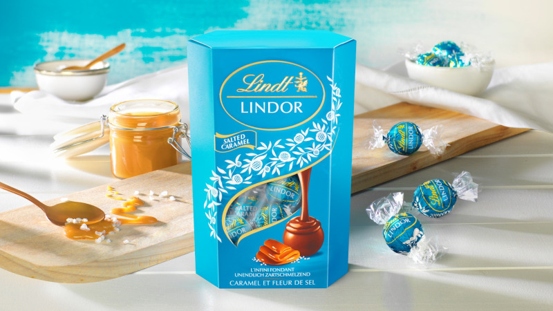 Lindt Launches Lindor Salted Caramel Truffles photo